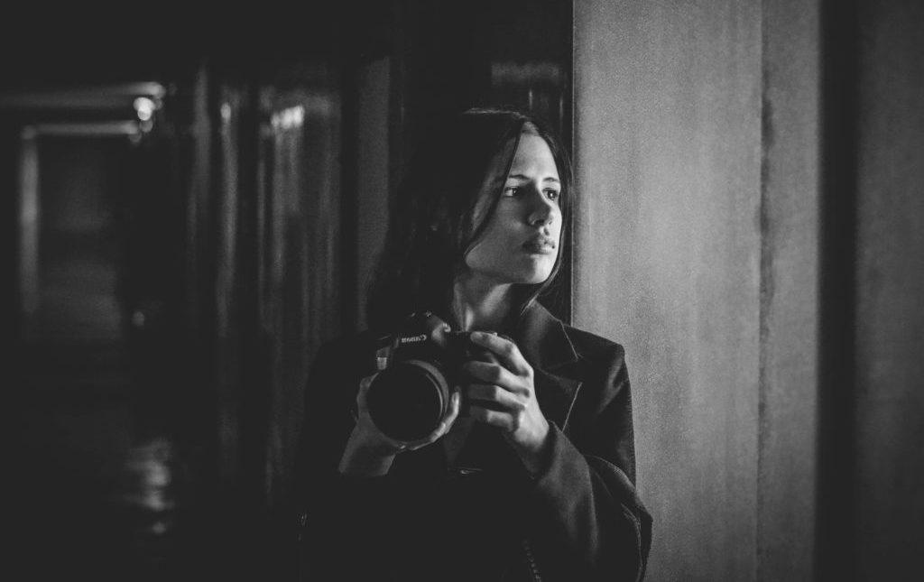 Photo portrait de Aline Ruzé photographe de mariage à Montpellier